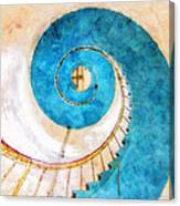 Lighthouse Staircase Canvas Print