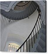 Lighthouse Stairs 3 Canvas Print