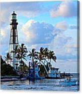 Lighthouse Sunrise Canvas Print