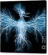 Lightning Phoenix Canvas Print