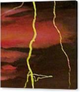 Lightning Sky Canvas Print