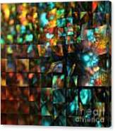Lights And Fractures Canvas Print