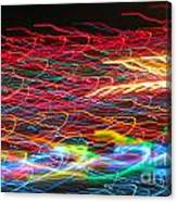 Lights In The Fast Lane Canvas Print