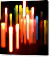 Lights Party Canvas Print