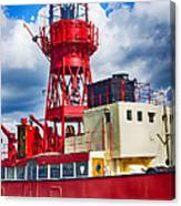 Lightship Lv15 Trinity Canvas Print