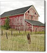 Ligonier Barn Canvas Print