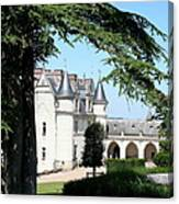 Like A Fairytale - Chateau Amboise Canvas Print