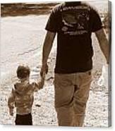 Like Father Like Son Canvas Print