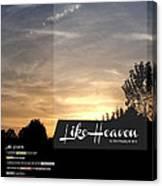 Like Heaven Canvas Print
