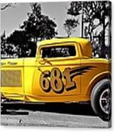 Lil' Deuce Coupe Canvas Print