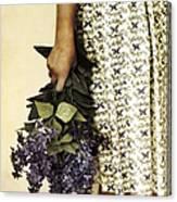 Lilac Bouquet Canvas Print
