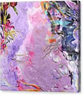 Lilac Goldfish Canvas Print