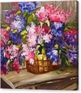 Rustic Lilac Canvas Print