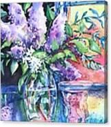 Lilac Light Canvas Print