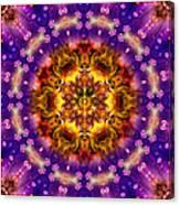 Sacred G Mandala 2 Canvas Print