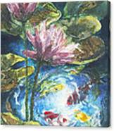 Lilies #2 Canvas Print