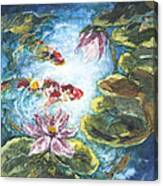 Lilies #3 Canvas Print