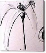 Lilium Observation Canvas Print