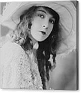 Lillian Gish Canvas Print