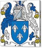 Lillie Coat Of Arms Irish Canvas Print
