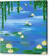 Lillies 1 Canvas Print