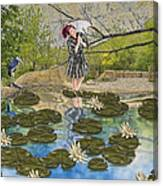 Lilly Pad Lane Canvas Print