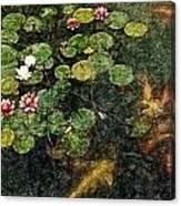 Lily 0147 - Colored Photo 2 Sl Canvas Print