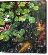 Lily 0147 - Light Colored Pencil Sl Canvas Print