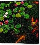 Lily 0147 - Pastel Pencil 1 Sl Canvas Print