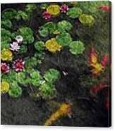 Lily 0147 - Watercolor 2 Sl Canvas Print