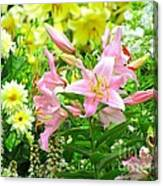 Lily And Friends Canvas Print