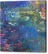 Koi Pond 2 Canvas Print