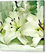Lily Family Canvas Print