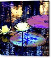 Lily Pond Fantasy Canvas Print