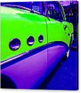 Lime 54 Buick Canvas Print