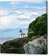 Lime Kiln Point Lighthouse Canvas Print