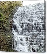 Limestone Falls 2 Canvas Print