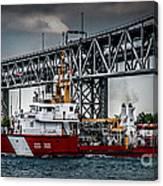 Limnos Coast Guard Canada Canvas Print