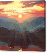 Limon Sun Canvas Print