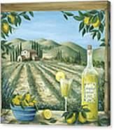 Limoncello Canvas Print