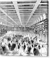 Lincoln Ball, 1865 Canvas Print