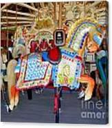 Lincoln Centennial Horse Canvas Print