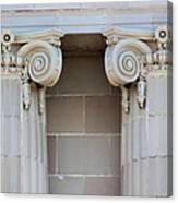 Lincoln County Courthouse Columns Canvas Print