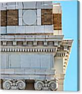 Lincoln County Courthouse Corner Canvas Print