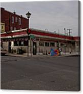 Lincoln Diner Canvas Print