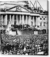 Lincoln Inauguration, 1861 Canvas Print