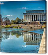 Lincoln Memorial Reflection Canvas Print