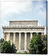 Lincoln Memorial Side View Canvas Print