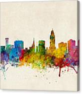 Lincoln Nebraska Skyline Canvas Print