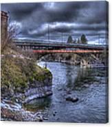 Lincoln Street Bridge 2013 Canvas Print